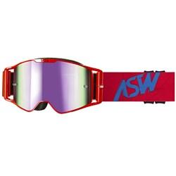 Óculos Asw A3 Matrix Vermelho Azul