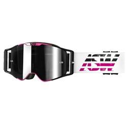 Óculos Asw A3 Triple Branco Rosa
