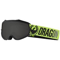Óculos Dragon Mxv Preto Verde Lente Fume Lumalens