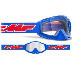 Óculos Fmf Powerbomb Transparente Azul