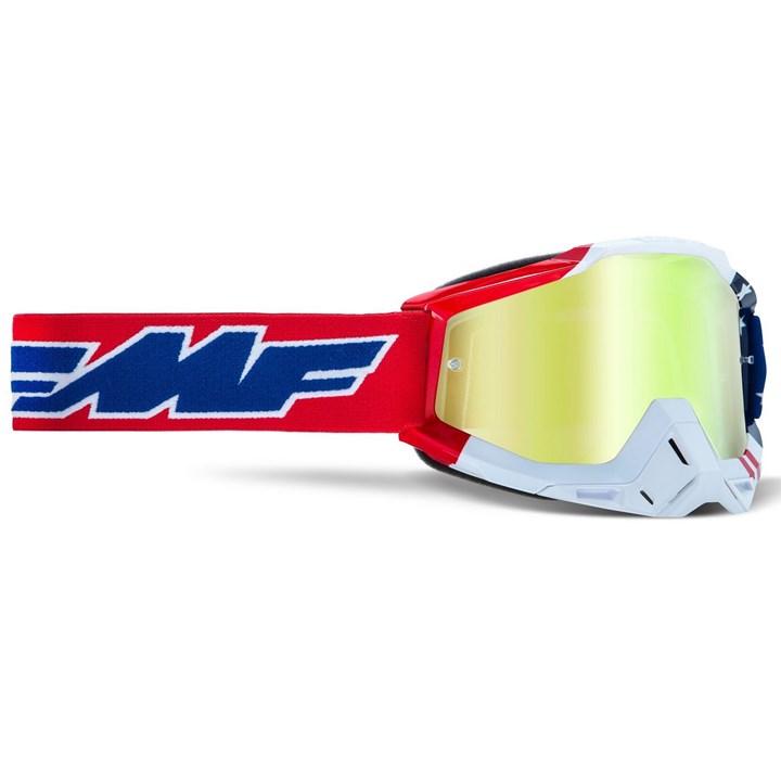 Óculos Fmf Powerbomb Us Vermelho Azul