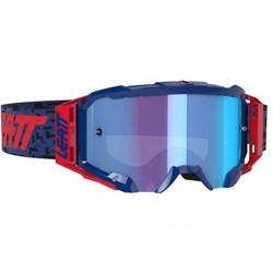 Óculos Leatt Velocity 5.5 – BulletProof - IRIZ Azul Vermelho