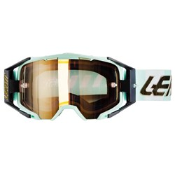 Oculos Leatt Velocity 6.5 Iriz Branco Dourado
