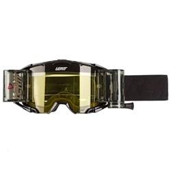 Oculos Leatt Velocity 6.5 Roll-off Cinza Preto