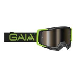 Óculos Motocross Gaia Mx Black Light Pro
