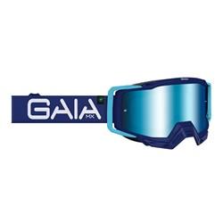 Óculos Motocross Gaia Mx Pro Blue Raze