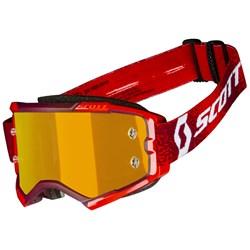 Oculos Scott Fury Vermelho Laranja