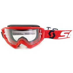 Óculos Scott Hustle X Mx Vermelho Branco