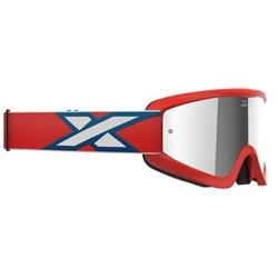 Óculos X-brand Flat-out Vermelho Fume