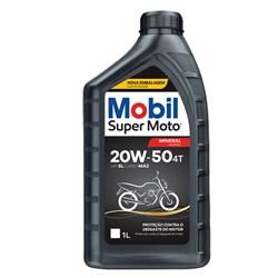 Óleo 20w50 Mineral Super Moto 4 Tempos 1 Litro Mobil
