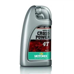 Óleo Motor MOTOREX Cross Power 10w60 - 4 Tempos