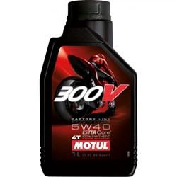 Óleo MOTUL 300V 100% Sintético 5W40 - 4 Tempos