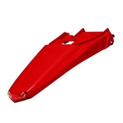 Paralama Traseiro Crf 230 Circuit Vermelho - Com Led Vermelho