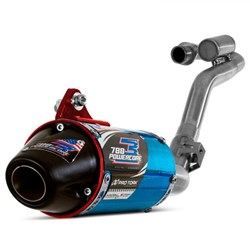 Ponteira + Curva de Escape CRF 250 F Protork PowerCore 3 Azul