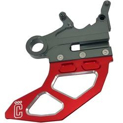 Protetor De Disco Freio Traseiro Crf 250 / 450 Corona Vermelho