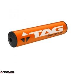 Protetor de Guidão Bullet Tag Cross Bar Laranja