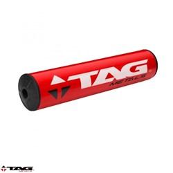 Protetor de Guidão Bullet Tag Cross Bar Vermelho