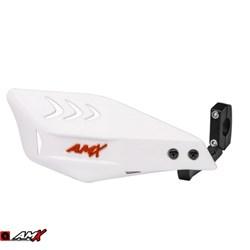 Protetor de Mão AMX Wing Carbon Branco Vermelho