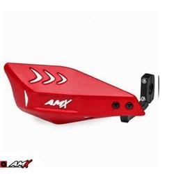 Protetor de Mão AMX Wing Carbon Vermelho Branco