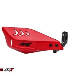 Protetor de Mão AMX Wing Carbon Vermelho Preto