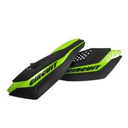 Protetor de Mão CIRCUIT DAKAR Kawasaki Carbono Verde