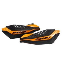 Protetor de Mão CIRCUIT DAKAR KTM Carbono Laranja