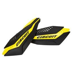 Protetor de Mão CIRCUIT DAKAR Suzuki Carbono Amarelo