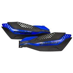 Protetor de Mão CIRCUIT DAKAR Yamaha Carbono Azul