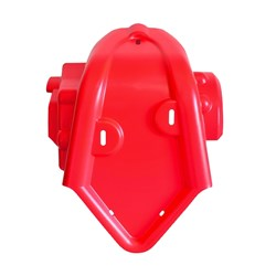 Protetor De Motor Crf 230 Biker Vermelho