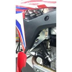 Protetor de Radiador Crf 250r 18 a 19 MX Start Racing Polido