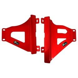 Protetor de Radiador Crf 250r 18 a 19 MX Start Racing Vermelho