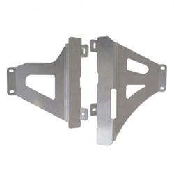 Protetor De Radiador Crf 450r 17 a 19 MX Start Racing Polido