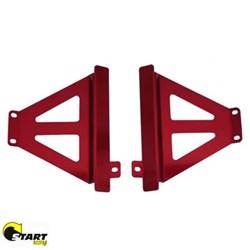 Protetor De Radiador Lateral Crf 250 X- R Mx Start Vermelho