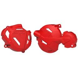 Protetor Tampa Do Motor Crf 250F Anker Vermelho
