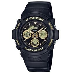 Relogio G-shock Aw-591gbx-1a9dr Dourado Anadigi