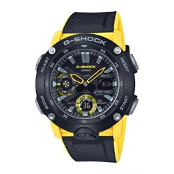 Relogio G-shock Ga-2000-1a9dr Amarelo Anadigi