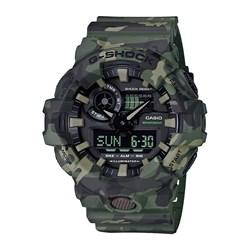 Relogio G-shock Ga-700cm-3adr Camo Verde Anadigi