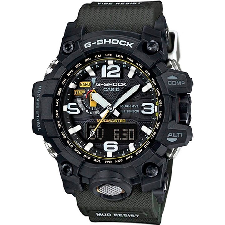 Relogio G-shock Gwg-1000-1a3dr Verde Anadigi