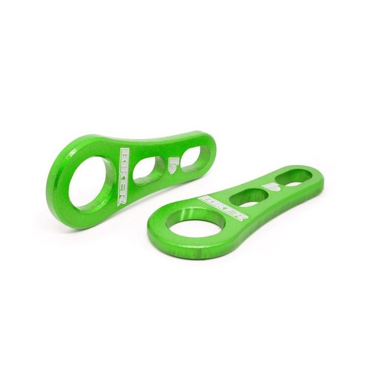 Suporte Para Extensor Brinco / Piercing Biker Verde
