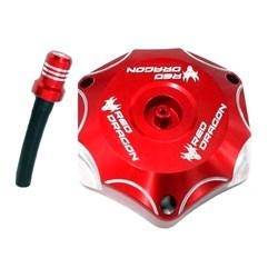 Tampa De Tanque Crf 250/450 Red Dragon Vermelho