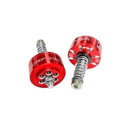 Valvula Emulador De Suspensão Crf 230 Pro Corona Vermelho
